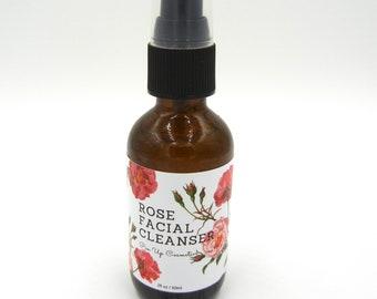 Pin Up Cosmetics Rose Facial Cleanser/Vegan Skin Care
