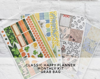 GRAB BAG - Classic Happy Planner Monthly Kits