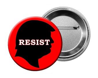 Broches ou des aimants - anti-Trump 6 modèles différents de «Anti-Trump» choisissent différentes quantités de boutons L, L aimants ou de petits boutons