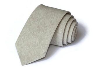 Natural Linen Necktie~Anniversary Gift~Wedding Tie~Mens Gift~Boys Necktie~Mens Necktie~Wedding~HoBo Ties~Mens Tie~Boys Tie~Linen Tie~Flax