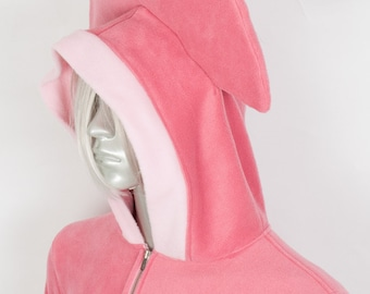 Squid Hoodie, Costume, Cosplay, Adult Size, Hand-made