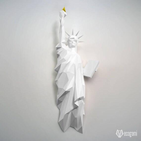 Estatua de la libertad de Nueva York Decoración de pared