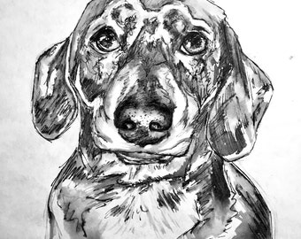 Custom made PET PORTRAITS - A4 or A3