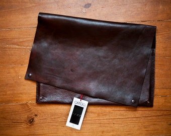 Handmade Leather Laptop Case Halus