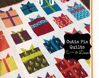 Quilt Pattern~Wrapped Quilt Pattern~Presents Quilt Pattern~Wrapped Gifts Quilt Pattern~