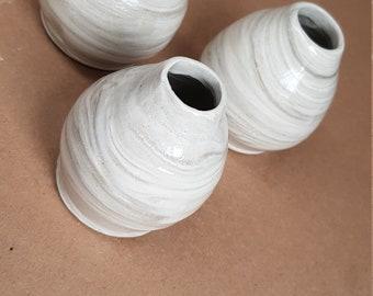 Marbled Bud Vases