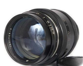 Jupiter-9 85mm F2 M39 Russian Vintage Rangefinder Lens for Sony E NEX