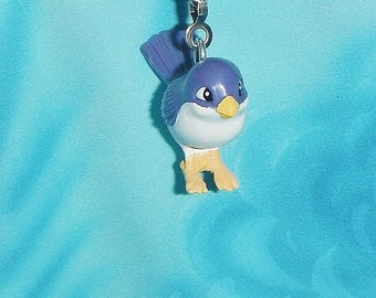 Cute Little Blue Birdy Bird ~ Ceiling Fan Pull