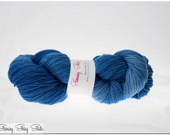 Wild Blue Yonder - Stunning Superwash Fingering Weight - 100% Superwash Merino - 100 g - 475 yds
