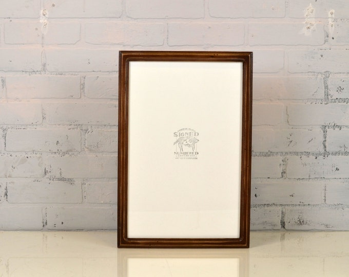 """A3 Size Picture Frame in Double Cove Style and Vintage Finish Color Of Your Choice - Handmade Frame 297 x 420 mm - A3 Frame - 11.7 x 16.5"""""""