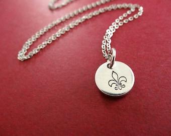 Fleur De Lis Necklace - Fleur De Lis Jewelry - Fleur De Lis Charm
