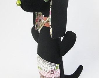 Alba the Dachshund / Dog Doll / Dachshund Plushie / Stuffed Toy / Wiener Dog Doll
