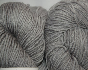 Studio June Yarn MCN Light Worsted - Silvery Gray