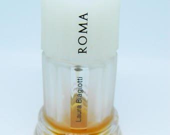 Vintage Roma by Laura Biagiotti Eau de Toilette 1980's,Retro Perfume,Vintage Fragrance,Retro Gift,Collectible Perfume Bottle,