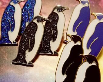 Night & Day Penguin Pin | Lapel Pin