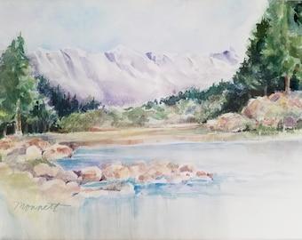 Rocky Mountain Shoreline
