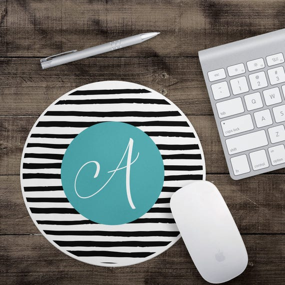 customized striped mouse pad fun mouse pad cute mouse pad
