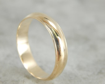Double Edge Wedding Band in Yellow Gold C9K2R5-R