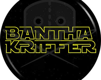 Star Wars - Inspired BANTHA KRIFFER button