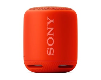 Sony XB10 Portable Wireless Speaker with Bluetooth, Red (2017 model)