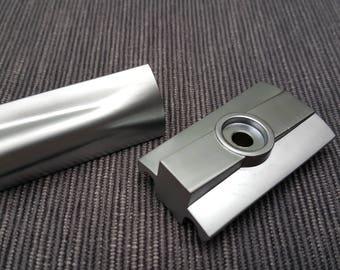 Windrose Slant safety razor head only! Satin/Polished Made in UK!