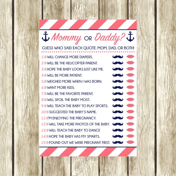It is a picture of Candid Guess Who Mommy or Daddy Free Printable