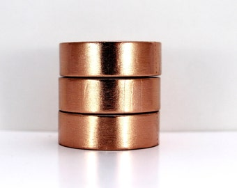 Washi tape foil tape copper solid