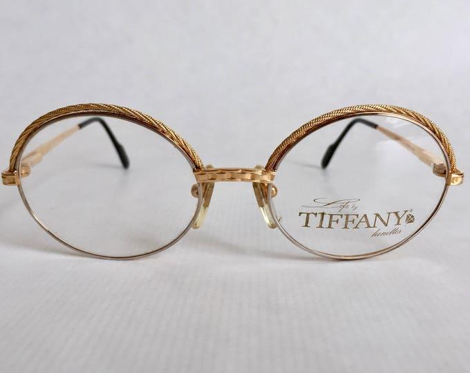 Tiffany Lunettes T72 Vintage Glasses 23Kt Gold & Platinum Plated - Full Set - New Old Stock