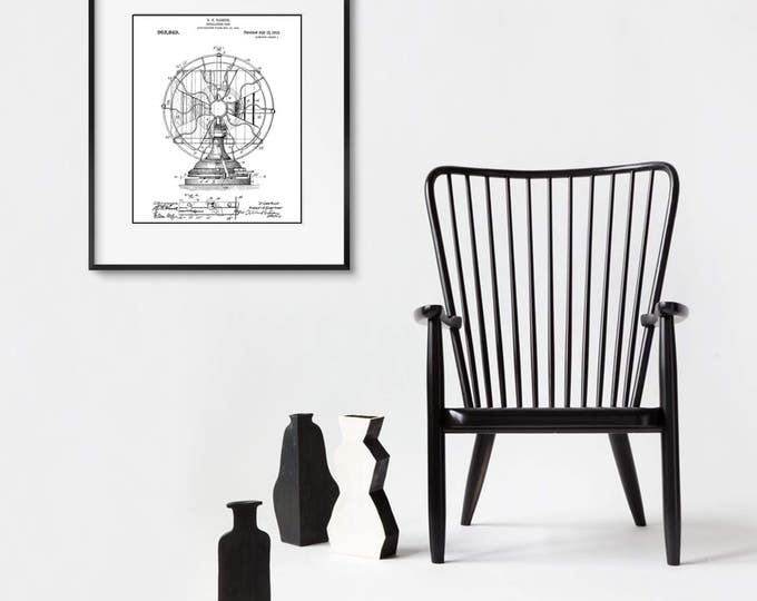 Industrial Patent Print Matted and Framed or Just Matted and Ready for Your Frame