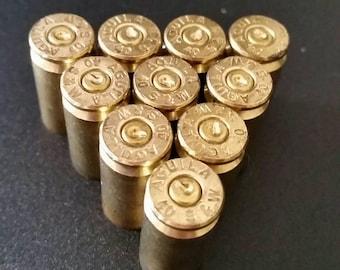Set of 50 .40 Caliber Spent Bullet Shell Casings