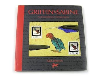 Vintage 1991 Book Griffin and Sabine by Nick Bantock Correspondence Art Postal Art Collage Book