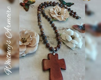 Mothers Day Limited Edition Cross Pendant Necklace