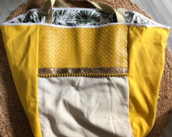 Yellow tote bag Big Bag