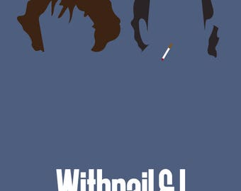 Withnail & I movie print