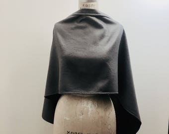 Soft Gray Scarf, Shawl Winter Accessories Sale, Warm Scarves, Cozy wrap