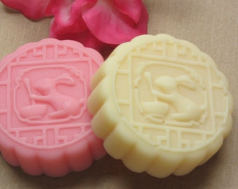 bunny rabbit soap glycerin soap scented in Sweet Pea This is the cutest soap ever!
