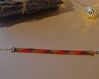 myuki woven pearl bracelet