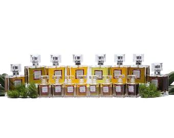 Natural Perfume Sample Set