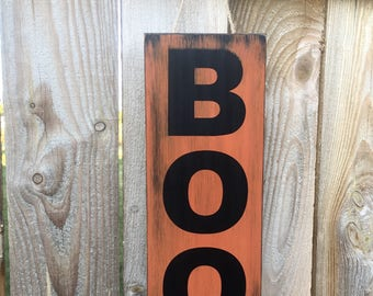 Boo Sign, Halloween Sign