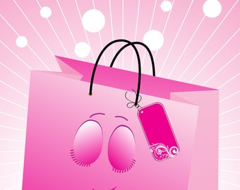 Colorful Shopping Bags-Digital ClipArt-Art Clip-Digital-Holiday-Sales-Gift Tag-Notebook-Scrapbook-banner-background-gift card.