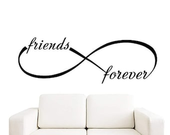 Love Infinity Symbol Wall Decal Vinyl Wall Decals Wall