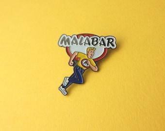 Malabar Chewing Gum Kreme decal candy Enamel Pin 90's Vintage badges