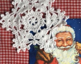 Snowflake Table Decoration / Coaster