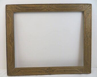 Gorgeous Art Nouveau Antique Frame 16 x 20 Vintage 1910's