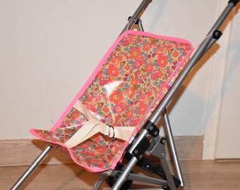 Cane seat stroller standard doll