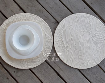 Round Placemats Etsy