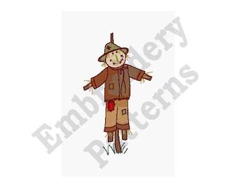 Scarecrow - Machine Embroidery Design