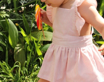 SOLD OUT Candy Stripe Peplum