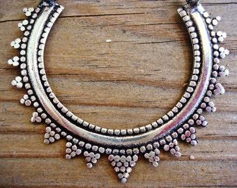 Boho earrings-Hoop earrings- Dangle earrings- Tribal earrings- Large hoops- Earrings- Jewelry- gypsy jewelry- Bedouin jewelry