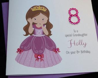 Pretty Princess Birthday Card